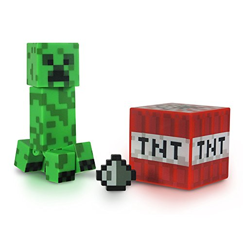 Minecraft Core Creeper Action Figure with Accessory