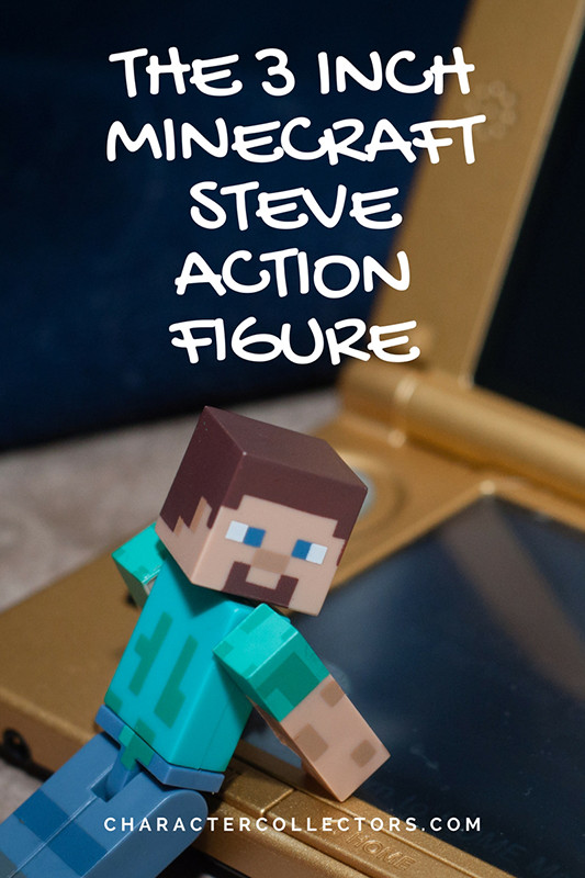 The Minecraft 3 inch Steve action figure is fully poseable so he can do just about anything. Including posing for glamour shots. A fun toy for kids to use their imagination.