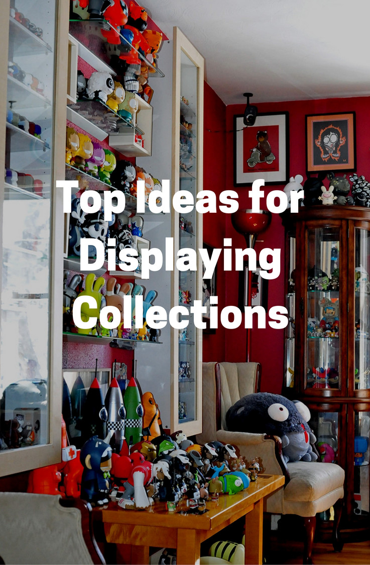The Top 5 creative Ideas for displaying collections. Show off your figurines, toys, and dolls in style.