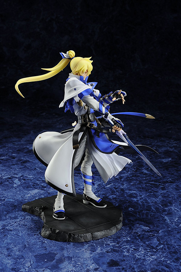 This Guilty Gear action figure features Ky Kiske in all of his glory. Another awesome figurine and statue to check out from the Guilty Gear fighting game series.